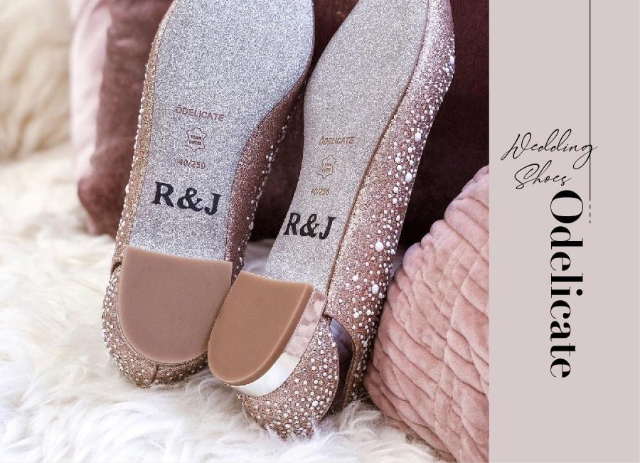 或許,妳也曾想過,如果有一天,腳踩著一雙夢寐以求的訂製婚鞋、踏上幸福的紅毯,和深愛的另一半共同許下承諾,那會是一幅多麼浪漫的畫面啊!