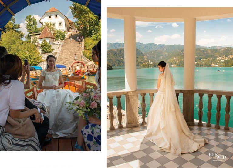 Slovenia Real Wedding : 讓見習建築師愛上的斯洛維尼亞婚禮